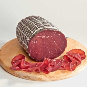 Bresaola (Viande de bœuf séchée)