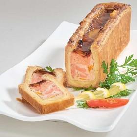 Mini mosaïque au saumon en croûte 500 g